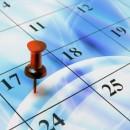 Calendar with Digital Background blog
