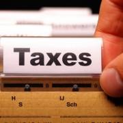 Taxes File Folder